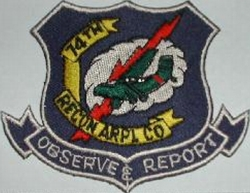 74th Recon Airplane Co.