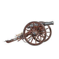 US Civil War Cannon